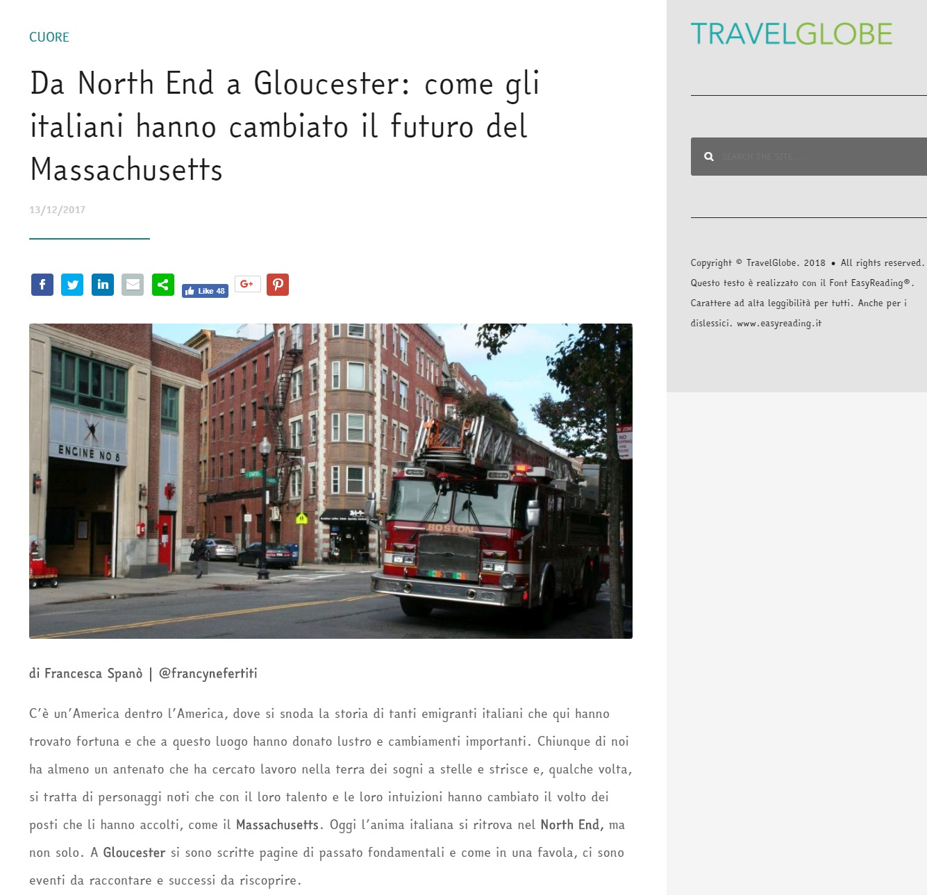 Travelglobe – Massachusetts