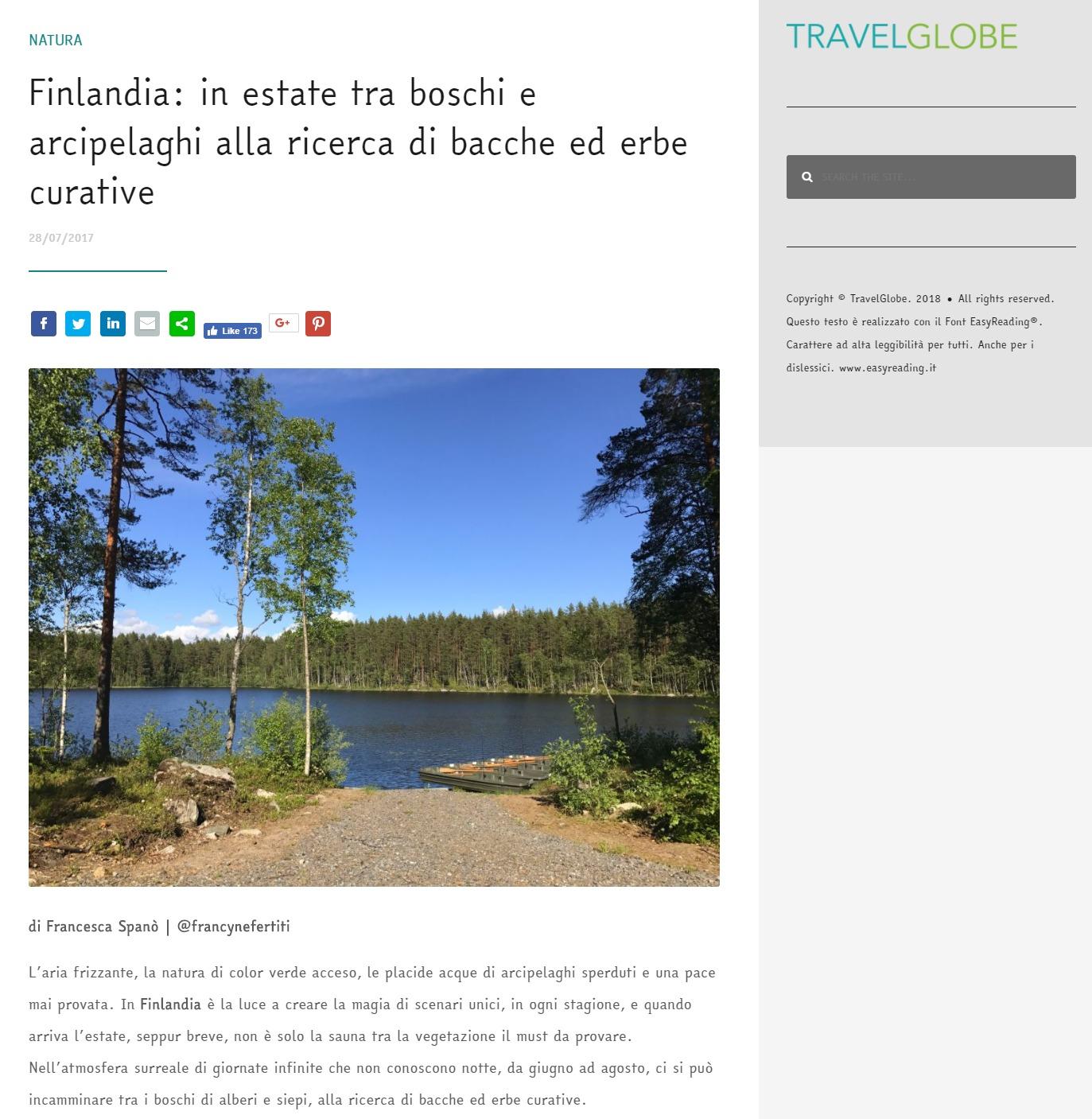 Travelglobe – Finlandia